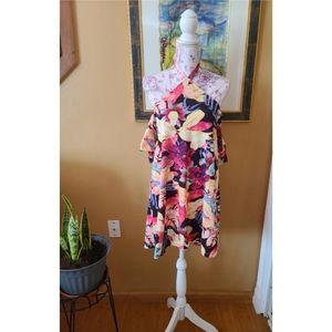 ASOS | Floral Halter Dress
